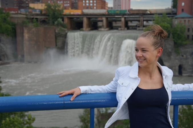 Anna at High Falls, Rochester, NY