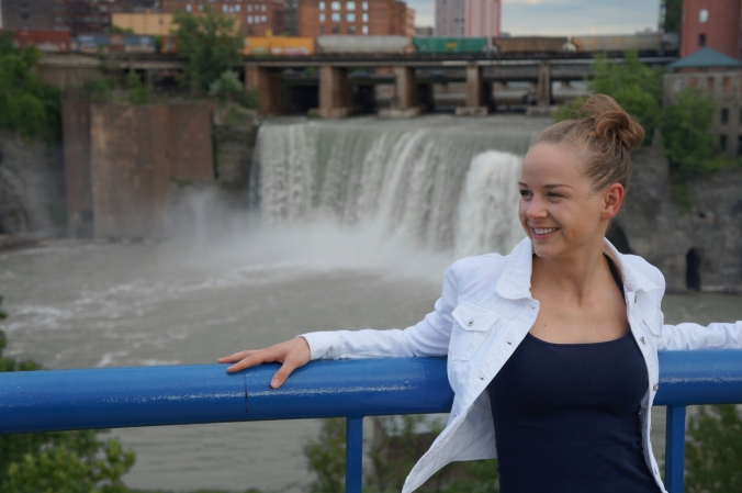 Anna at High Falls, Rochester, NY