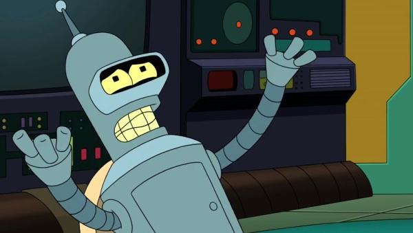 """Bender in """"Futurama"""""""